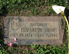 The Black Dahlia AKA Elizabeth Short