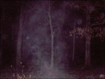 Misty Figure