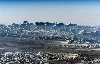 Himalayan mountain range in Nepal