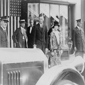 Mr. and Mrs. Charles A. Lindbergh