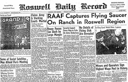 Roswell New Mexico UFO
