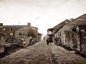 St. Augustine Florida Historic District  C. 1861-1865
