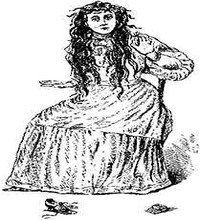 artist's drawing of Betsy Bell
