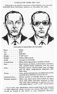 D. B. Cooper Wanted Poster