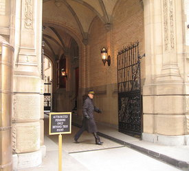 Entrance to the Dakota