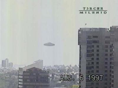 Not The Real UFO Sighting I Had, But What it Looked Like...